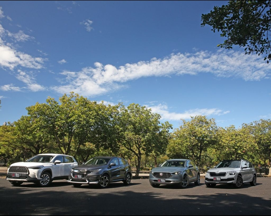 [集體評比] CUV挑好、選滿 Toyota Corolla Cross vs. Honda HR-V vs. Skoda Kamiq vs. Mazda CX-30