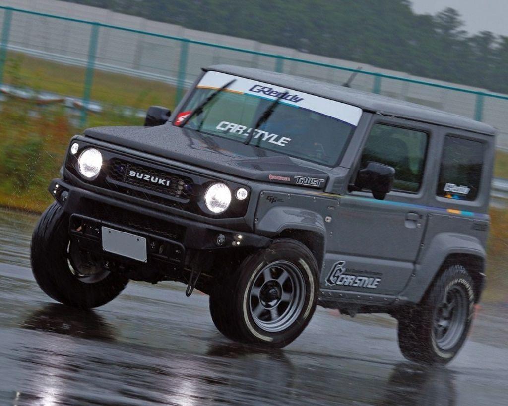 250ps馬力的是世界級怪物Jimny 鍛造腹內渦輪增壓全數強化