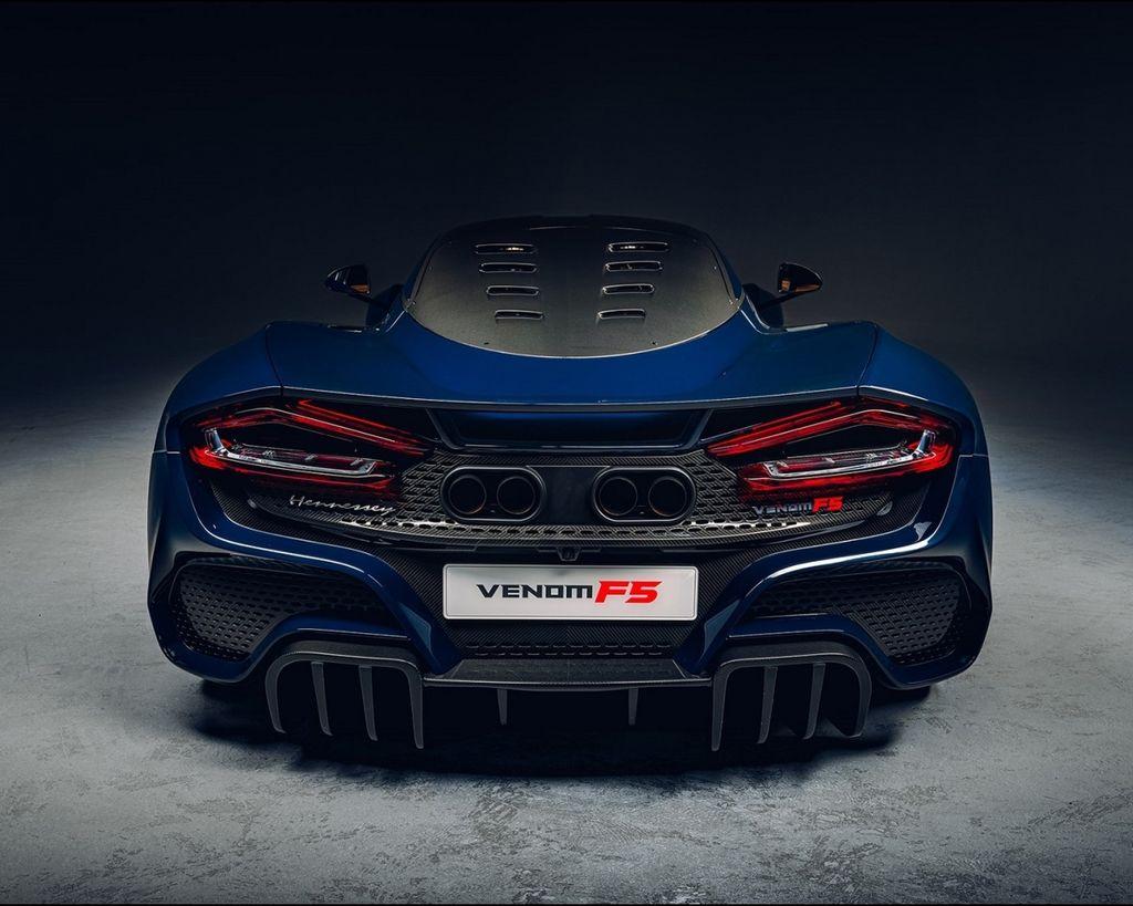 量產版美式極速車 Hennessey Venom F5