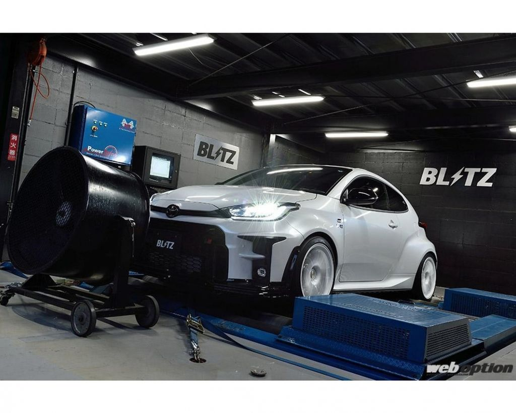 BLITZ GR Yaris本格開改 提高增壓值輕鬆獲得20ps