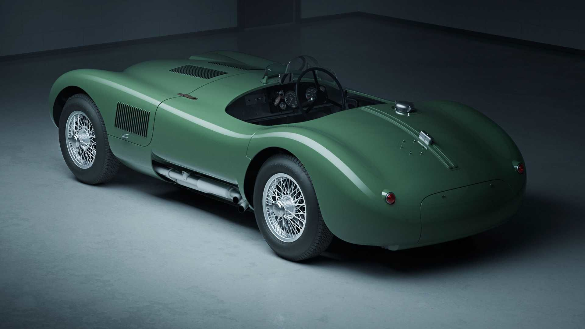 復刻版 Jaguar C-Type Continuation 依舊吸睛