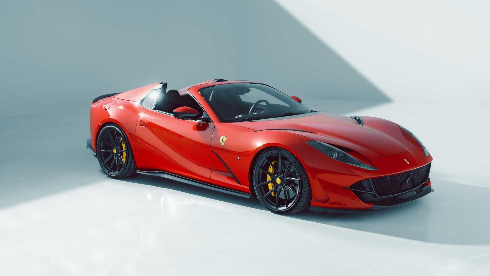 Ferrari 812 GTS 更完美的改裝