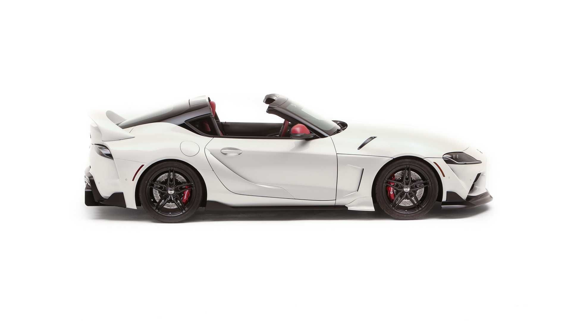 Toyota 推出 Targa 車頂的GR Supra Sport Top 概念車