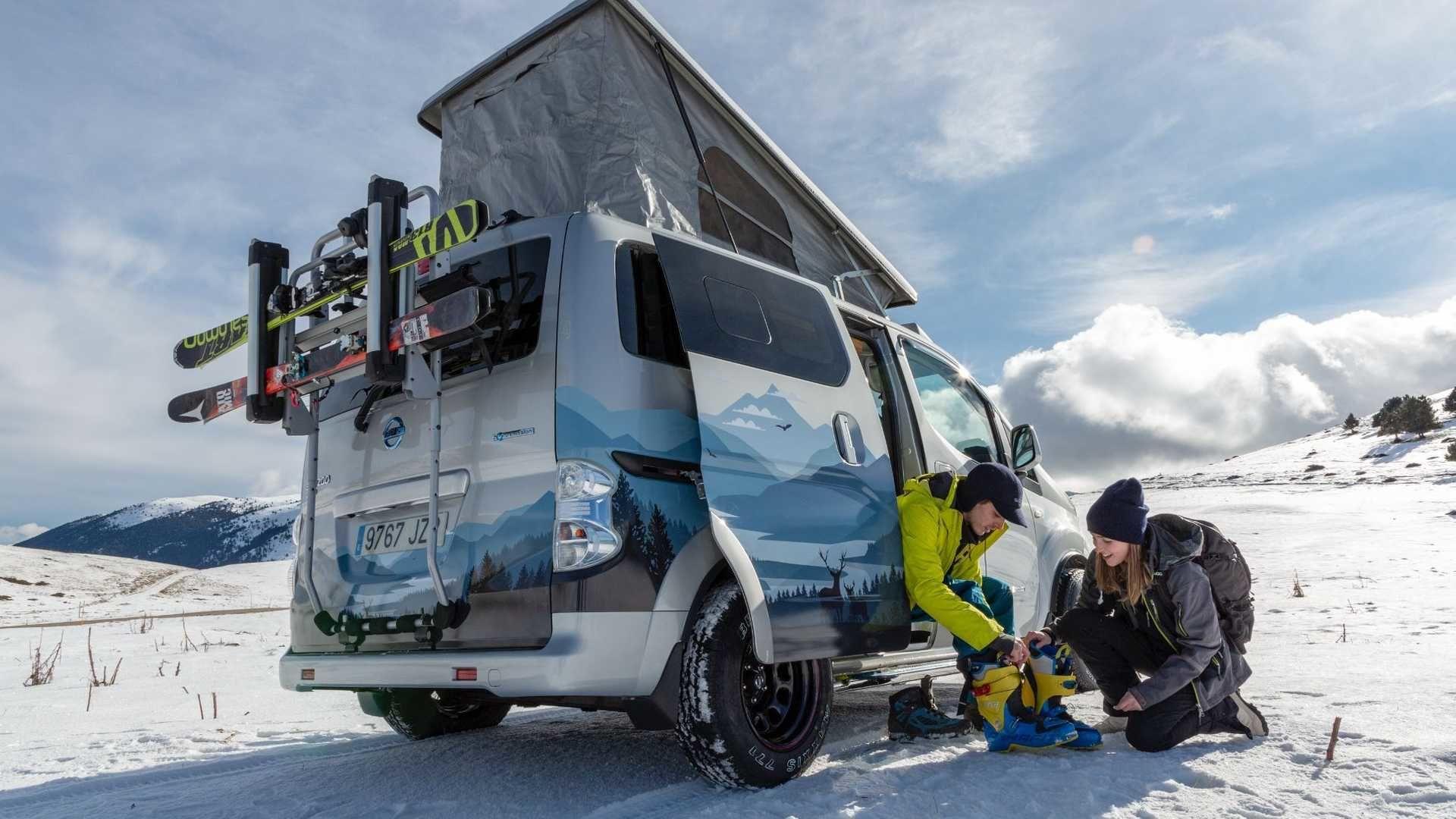 Nissan e-NV200 Winter Camper 零排放願景