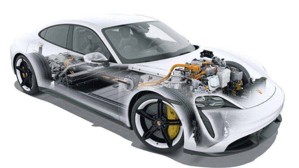 12,000 Nm扭力 解密Porsche Taycan 動力核心