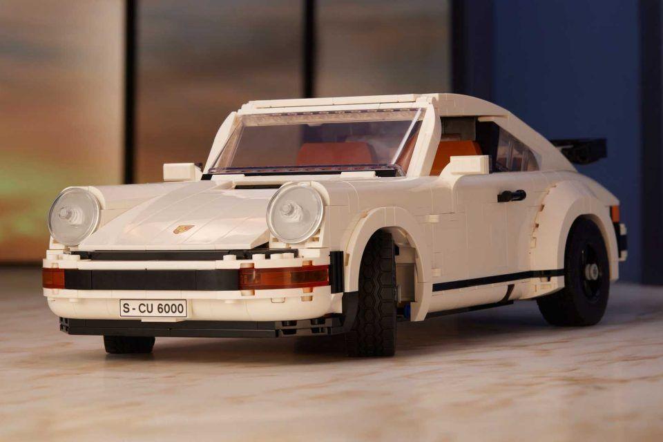 一次擁有「Porsche 911 Turbo + Targa」 Lego