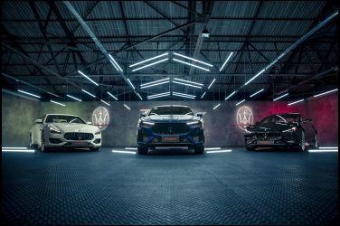 海神鐵騎集結 Maserati Trofeo Range