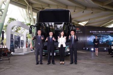 頂級工藝‧與世界一起犇馳 戴姆勒賓士OC500六期大客車台灣上市發表會