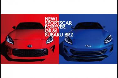 雙劍齊發 New Toyota GR 86 & Subaru BRZ