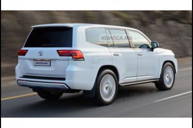 下期新型豐田Land Cruiser 300的設計圖疑似流出?外觀設計曝光