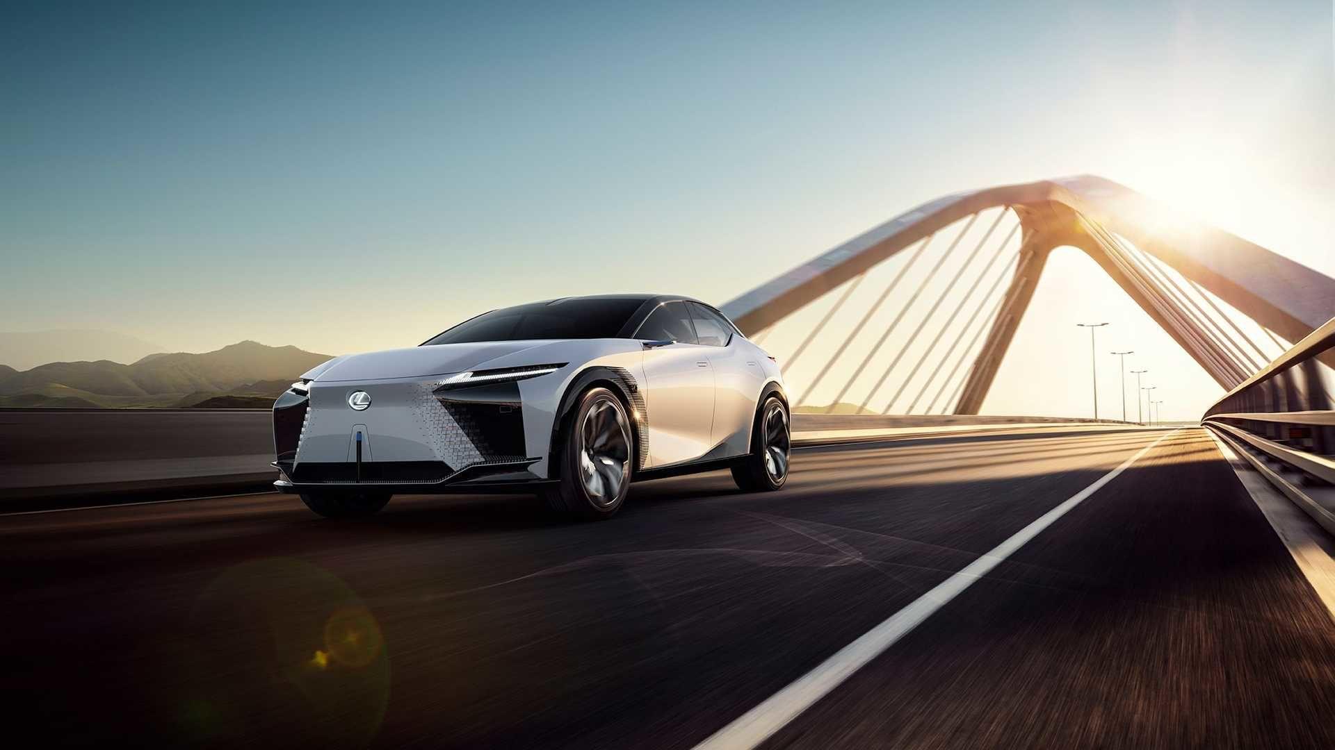 Lexus 發表超大膽設計電動概念車