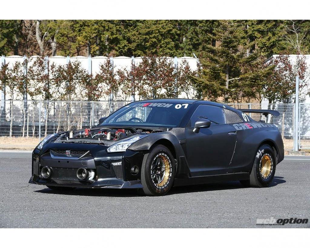 超過2000匹馬力R35 GT-R 零四目標七秒內