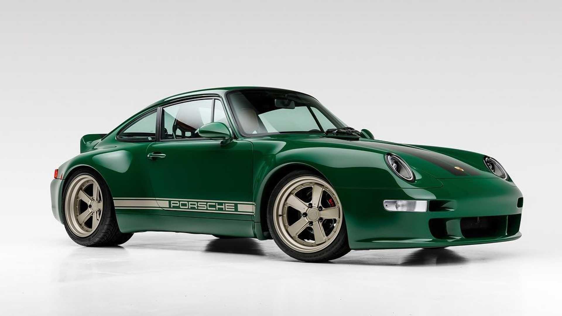 Gunther Werks 高品質改造 Porsche 911 作品