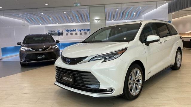 2021年05月 Toyota 豐田全車系中古車行情表