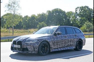 「M3 Touring」上路測試了!BMW首輛「M」系列旅行車即將誕生