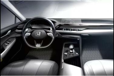 這就是新Civic的內艙嗎?本田公開了下一代車型的內艙設計