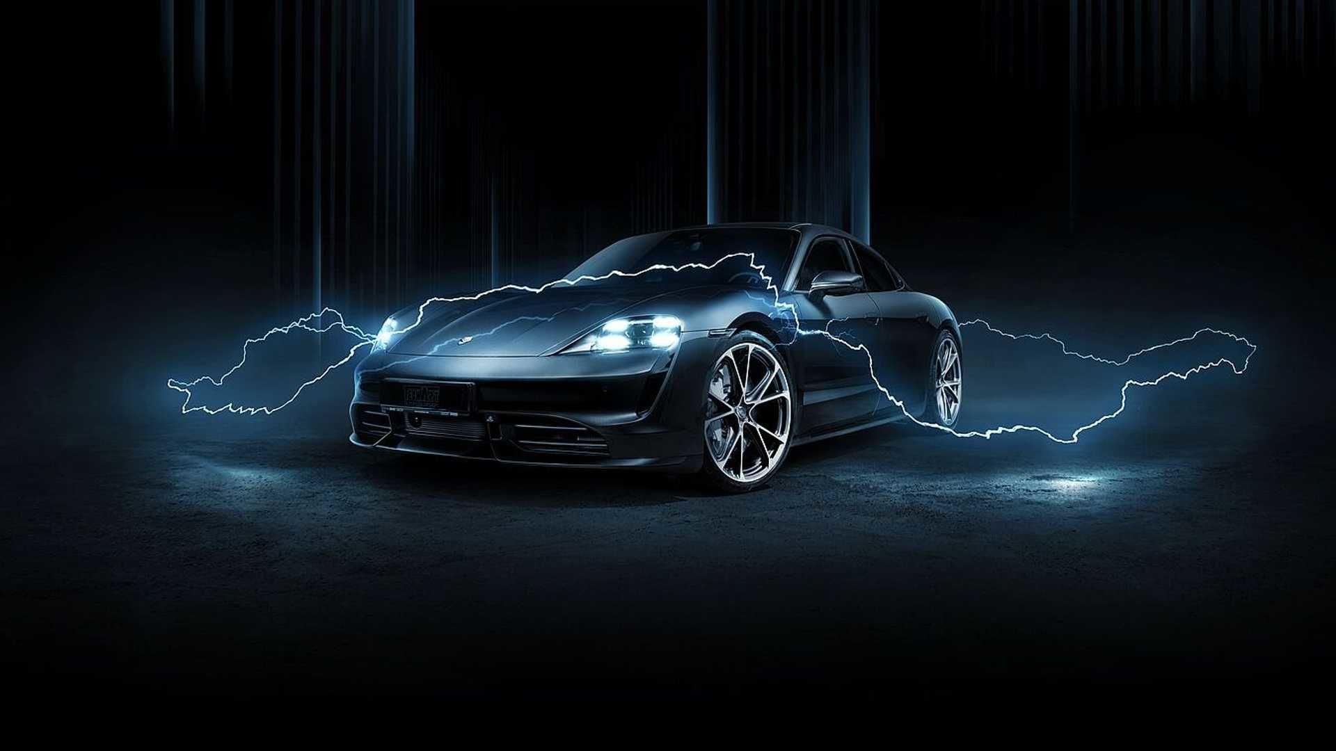 Techart 出手改裝 Porsche Taycan
