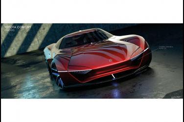 融合豐田2000GT和GR Supra!接獲「H2+Concept」外觀預測圖