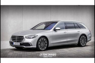 傳聞新一代Mercedes-Benz S-Class將要加入旅行車型!還有人製作了外觀預測圖