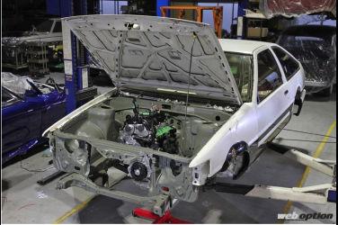 GR Hachiroku製作中 G16E-GTS引擎移植至AE86!