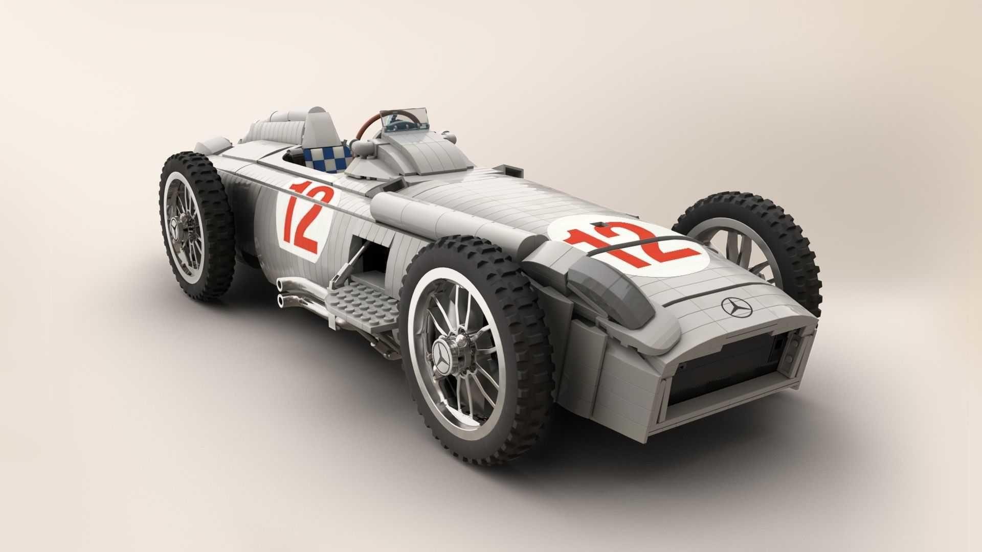 出Lego 我就買的 Mercedes W196R