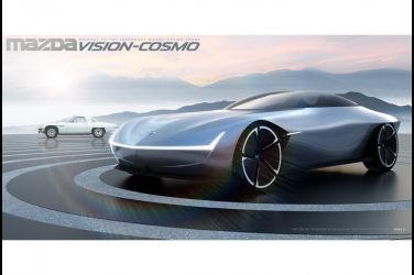 Mazda新一代Cosmo跑車將搭載氫氣轉子引擎復活?附上3D渲染圖
