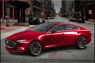 下一代Mazda 6將採用「世界最美」設計?公開搭載直列6缸的FR Sedan外觀預測圖