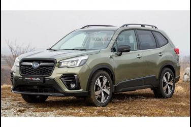 公佈Subaru Forester 2022年式外觀預測圖!將改為帶有粗壯結實的車身?