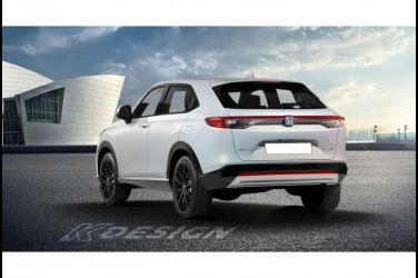 Honda下一季新型北美款HR-V和Vezel將會是不同設計?公佈渲染圖