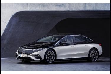 電能豪華旗艦 Mercedes-Benz EQS