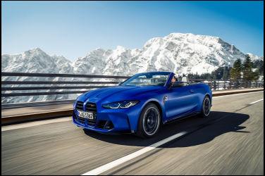 破風利刃 BMW M4 Competition Convertible