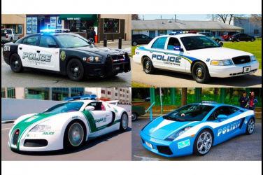 世界各國警車介紹!種類從超跑到跑車共計12輛