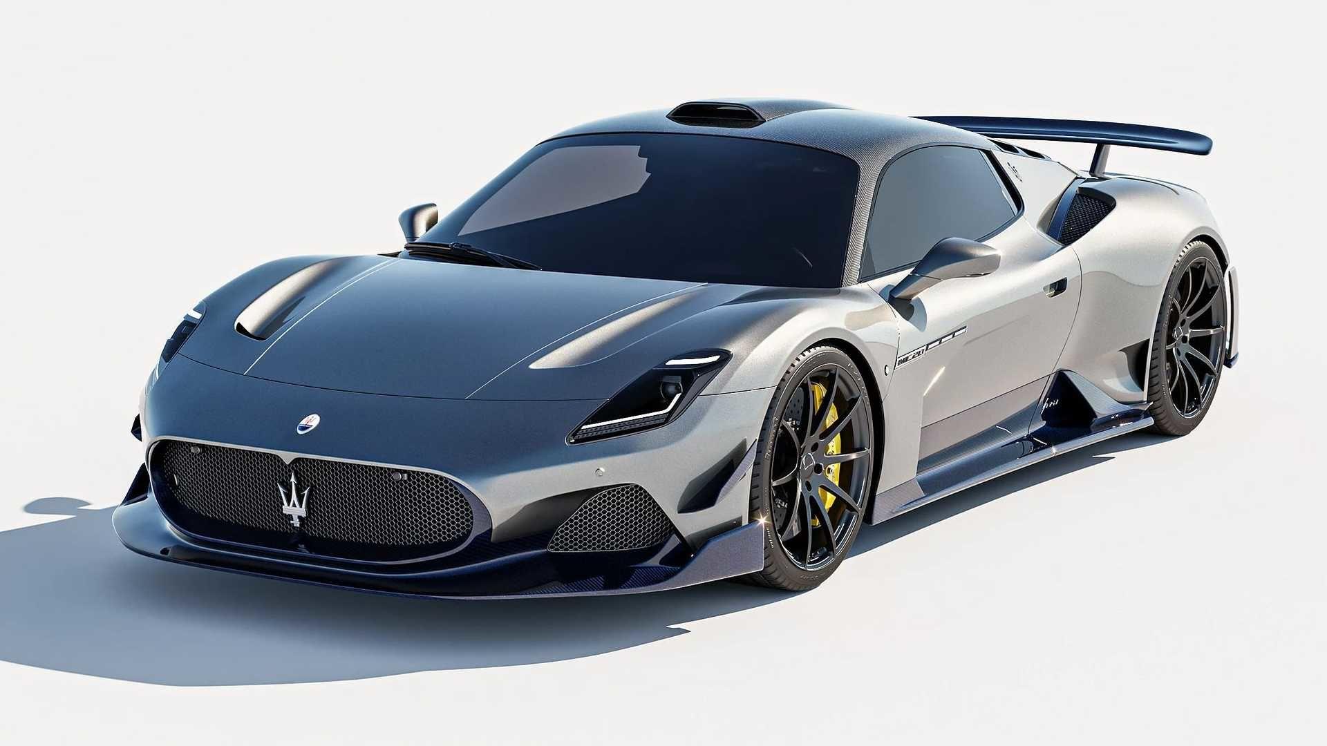 7 Designs 外觀改「Maserati MC20」