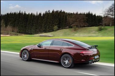 全新四門轎跑 Mercedes-AMG GT 4-Door Coupé 精修車室細節 預計年底在台上市