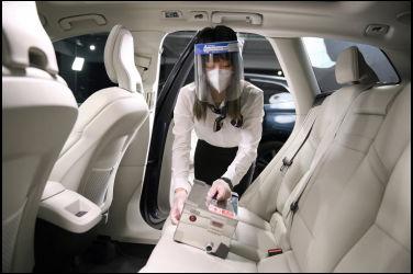 VOLVO 最高規格防疫 打造安心賞車環境 全面阻隔傳染 守護顧客健康