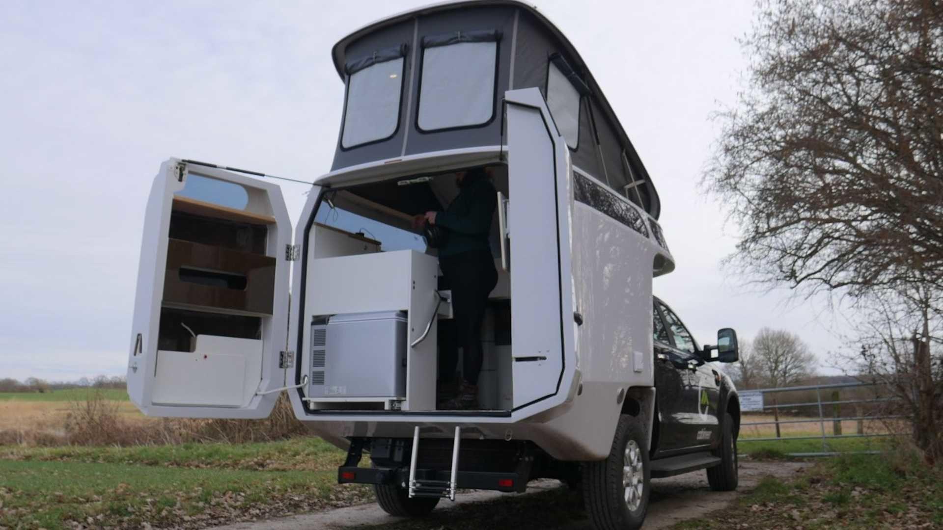 德國品牌 Cabineer 帶來環境友善的露營車殼產品