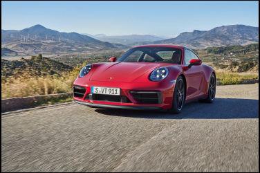 全新保時捷911 GTS:前所未見的性能與動力