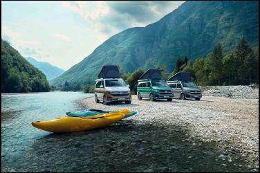 福斯商旅「一生絕對要有的夢幻露營車」全員到齊 T6.1 California Coast限量上市,貫徹VanLife精神