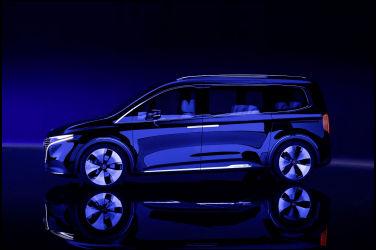 接近量產規格 Mercedes-Benz Concept EQT