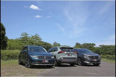 [集體評比] 進口主流中型SUV風格之爭(中) Peugeot 3008 vs. Volkswagen Tiguan vs. Toyota RAV4