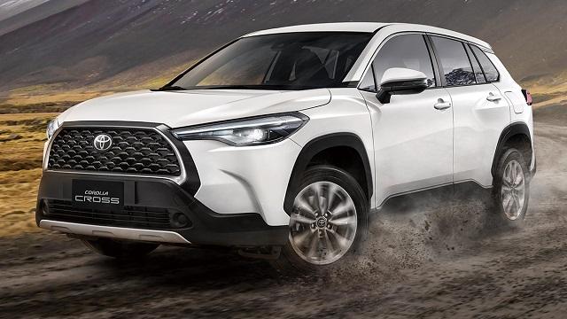 2021年07月 Toyota 豐田全車系中古車行情表