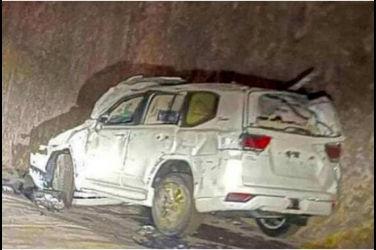 新一代Land Cruiser 300在運送中遇事故……多輛車毀損、甚至車體全毀