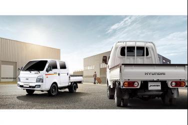 歡慶三噸半級最強貨車銷售冠軍 入主HYUNDAI PORTER Pro就送好禮2選一