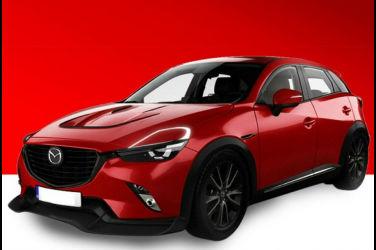 Mazda最迷你SUV染上RX-VISION風格 改造過的CX-3感覺不錯!