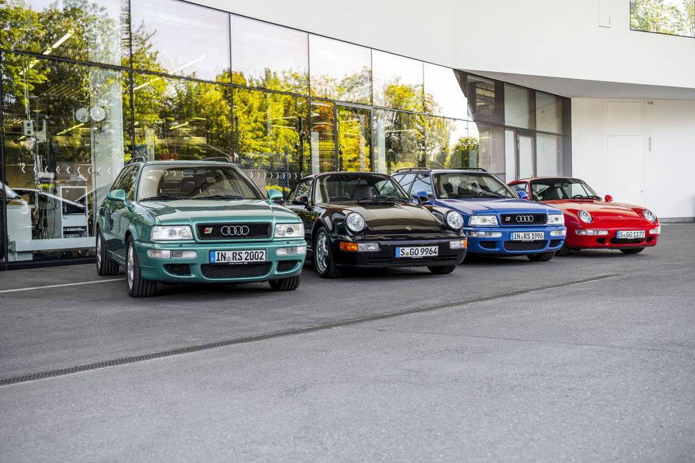 與保時捷經典共遊-1990年代破紀錄車款Audi Avant RS2