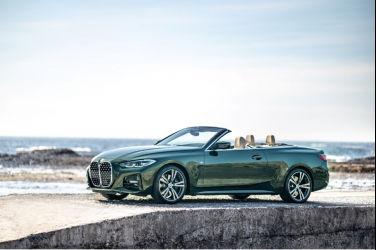 THE 4恣意馭風 全新BMW 4系列Convertible敞篷跑車率性登場