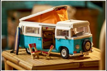樂高完美重現福斯T2露營車!驚人內艙與自由裝飾