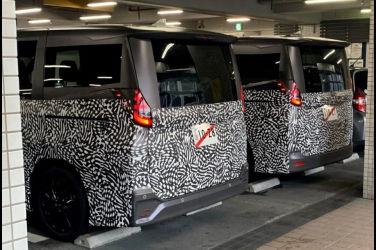 捕捉到了Toyota下一代Noah和Voxy開發車輛!2022年初有望上市