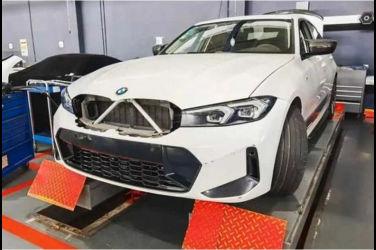 這樣好嗎!?沒那麼大的新版BMW 3-Series腎型水箱護罩流出