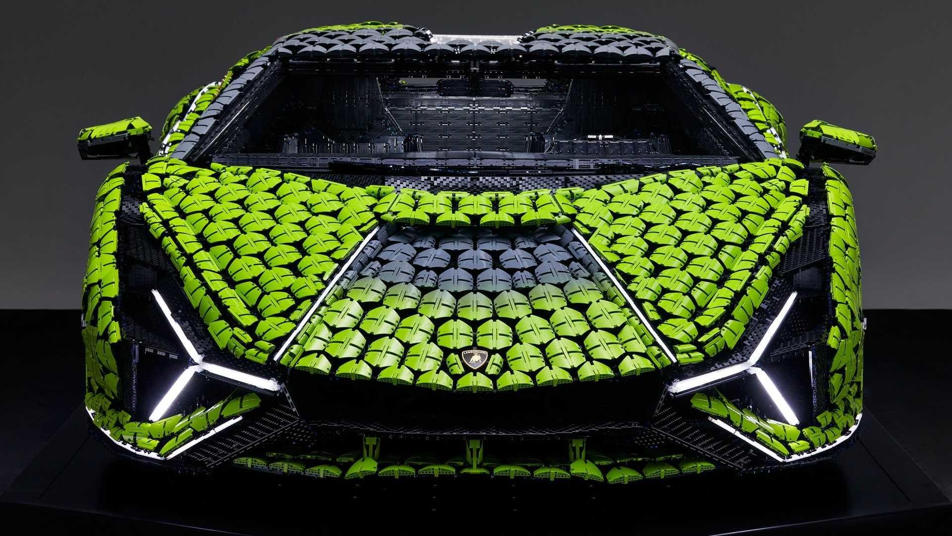 Lego 打造出夢幻的「Lamborghini Sián FKP 37」1:1 模型